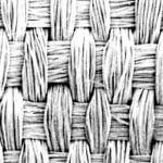 シャンタンという平織物です。